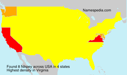 Surname Nikpey in USA