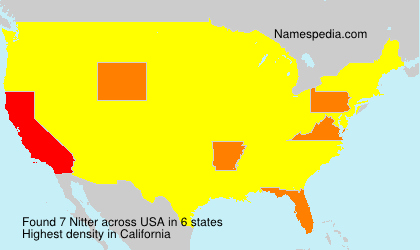 Surname Nitter in USA