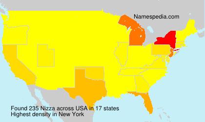 Familiennamen Nizza - USA