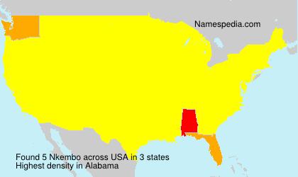 Surname Nkembo in USA