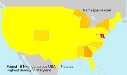Surname Nkenge in USA