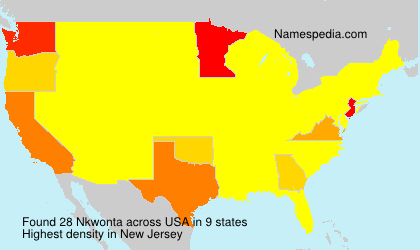 Surname Nkwonta in USA