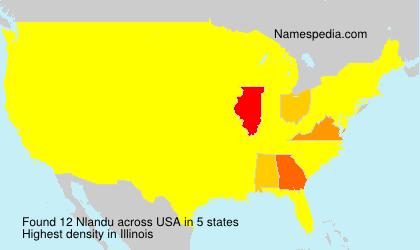 Surname Nlandu in USA