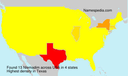 Surname Nlemadim in USA
