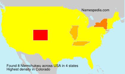 Surname Nlemchukwu in USA