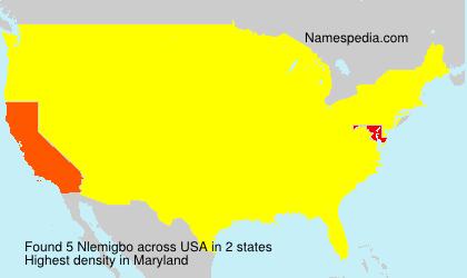 Surname Nlemigbo in USA