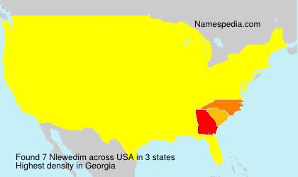 Surname Nlewedim in USA