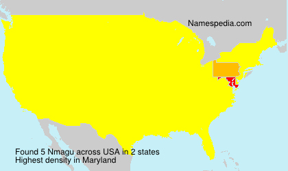 Surname Nmagu in USA