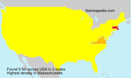 Surname Nri in USA