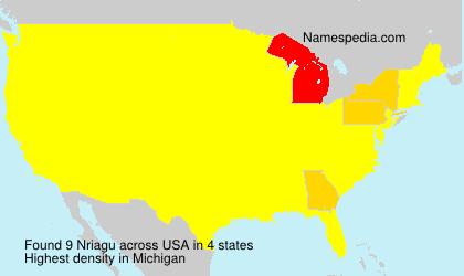 Surname Nriagu in USA