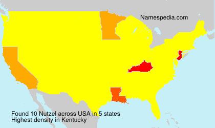 Surname Nutzel in USA
