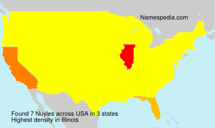 Surname Nuyles in USA