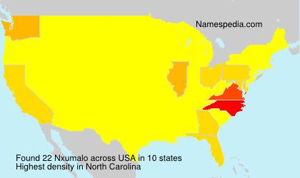 Surname Nxumalo in USA