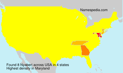 Nyaberi - USA