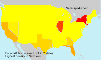 Surname Nyc in USA