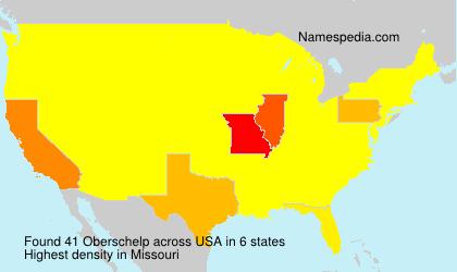 Familiennamen Oberschelp - USA