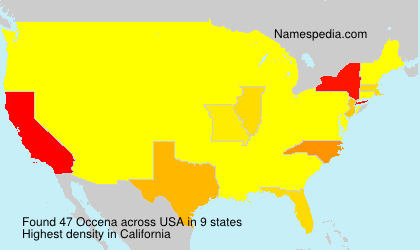 Surname Occena in USA