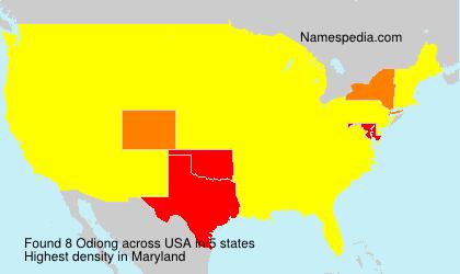 Odiong - USA