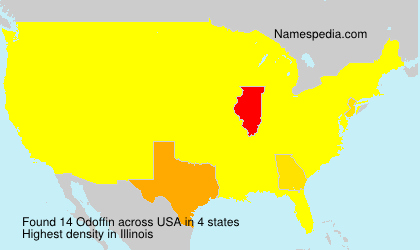Surname Odoffin in USA