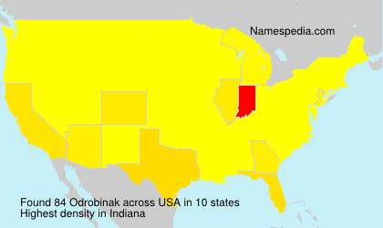 Surname Odrobinak in USA