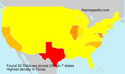 Odufuwa - USA