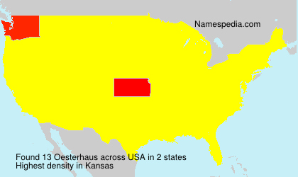 Oesterhaus - USA