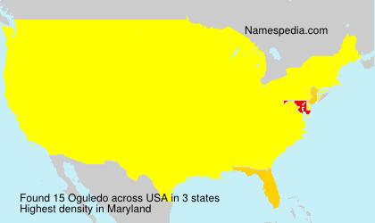 Surname Oguledo in USA