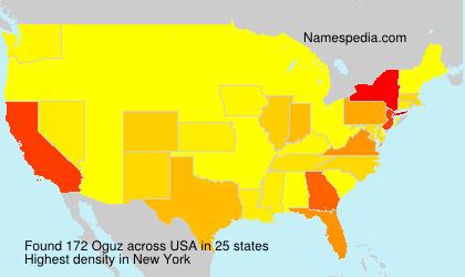 Surname Oguz in USA