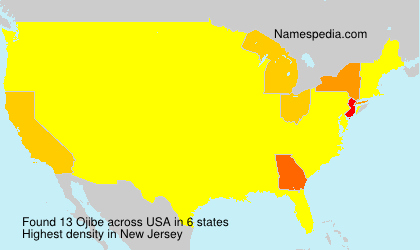 Surname Ojibe in USA