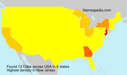 Surname Ojibe in USA