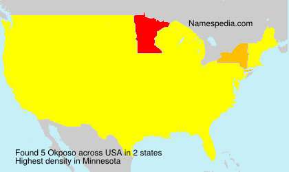 Surname Okposo in USA