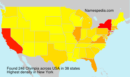 Surname Olympia in USA