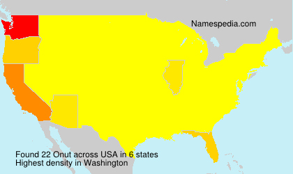 Surname Onut in USA