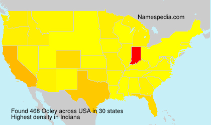 Surname Ooley in USA