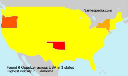 Oppolzer - USA