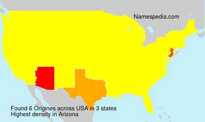 Surname Origines in USA