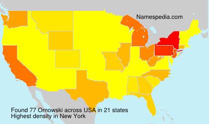 Surname Ornowski in USA