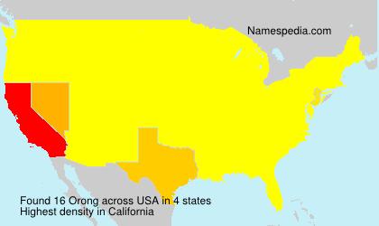 Orong - USA