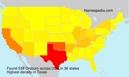 Orsburn - USA