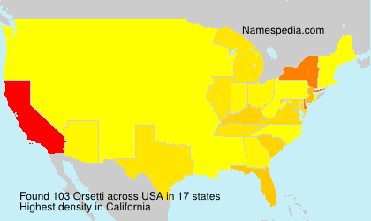 Orsetti - USA