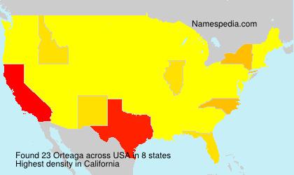 Orteaga - USA