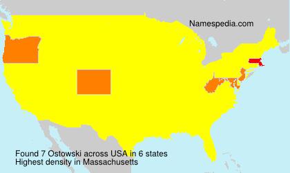 Surname Ostowski in USA