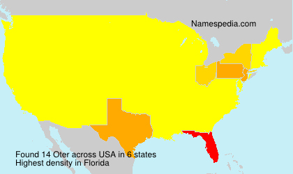 Surname Oter in USA