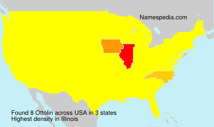 Surname Ottolin in USA