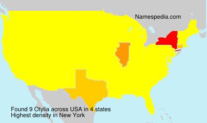 Surname Otylia in USA