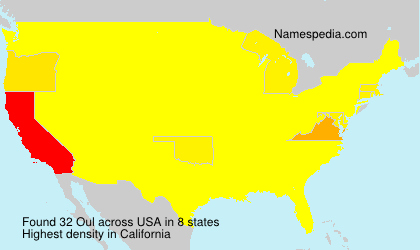 Surname Oul in USA