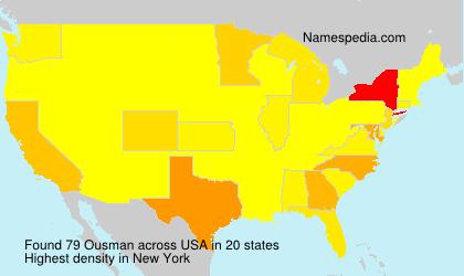 Surname Ousman in USA