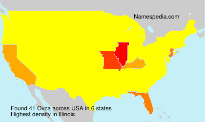 Surname Ovca in USA
