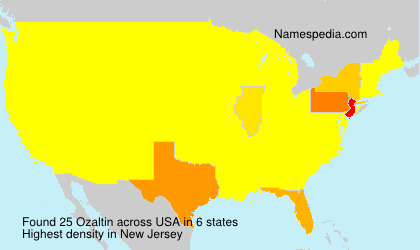 Surname Ozaltin in USA