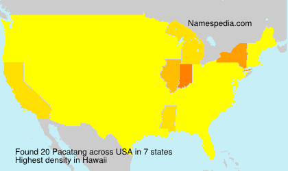 Surname Pacatang in USA